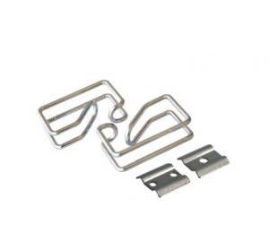 Linkbasic Cable Management Ring (steel) - Silver Cfh01-1-a