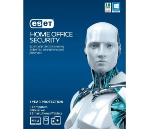 Eset Home Office Security Pack 5 Endpoints 5 Android 1 File Server 1Y Digital Key Printed Card
