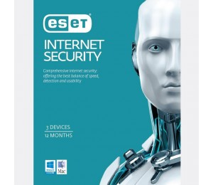 Eset Internet Security 3 Device/ 1 Year Download 20-pack Limited Time Only Esisoem-3d1y-20p