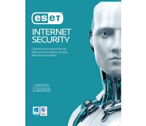Eset Internet Security Oem 3 Devices 1 Year Download Eish3d1y