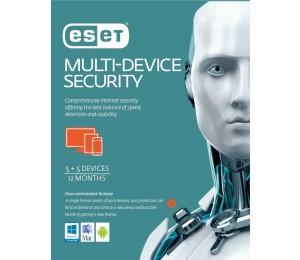 Eset Multi Device Security 5+5 1 Year Retail Download Card Es-Emdsr51Y
