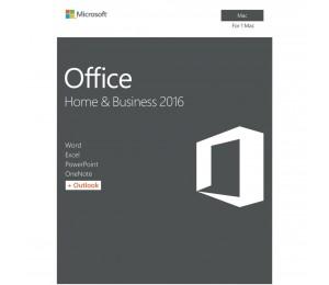 Microsoft Office Mac 2016 Home & Business - No DVD Retail Box W6F-00921