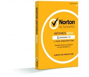 Norton Antivirus Basic 1.0 1 User, 1 Device, 12m Subscription - Retail Box 21370509