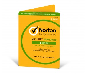 Norton Security Standard 3.0, 1 User, 1 Device 1 Year OEM 21356799