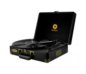 Mbeat Woodstock Retro Turntable Player Black Mb-tr89blk