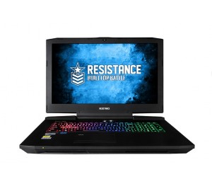 "Leader Resistance Fury Gaming Notebook V3. 17.3"" Full Hd Intel I7-7700K 16Gb 250Gb Ssd 1Tb Hdd Nvidia"