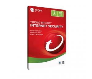 Trend Micro Internet Security 3d 12mth Retail Digital Download Card Ticiwwmcxsbxeb
