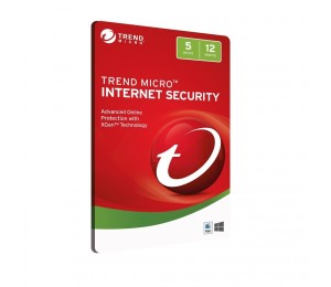 Trend Micro Internet Security 5d 12mth Retail Digital Download Card Ticiwwmcxsbyeb