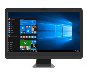 "Leader Visionary 23"" Aio No Touch Intel I5-7400 8gb 1tb Dvdrw 802.11b/ G/ N Wifi Win10 Home Kb&"