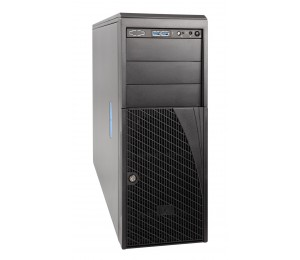 Intel 4U Server Chassis with 4x Fixed HDD No PSU, 2xFans, AirDuct P4304XXMUXX