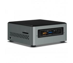 """Intel NUC mini PC J3455 2.3GHz 2xDDR3L SODIMM 2.5"""" HDD M.2 SATA/ PCIe SSD VGA HDMI 2xDisplays GbE"""