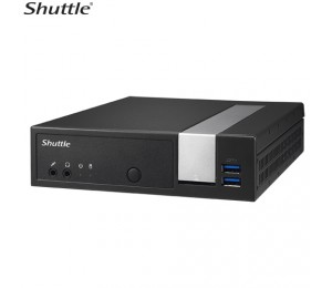 Shuttle Dx30 Slim Mini Pc 1.3l - Fanless 4k 3xdisplays Celeron J3355 2xddr3l Sodimm 2.5' M.2 Hdmi