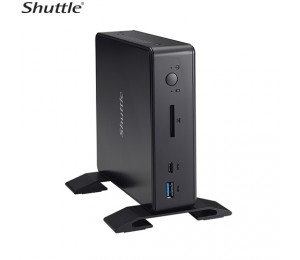 Shuttle X Pc Nano 0.57l Barebone - I5-6200u 2x Ddr3 Sodimm 1x 2.5' 1x Gbe 1x Dp + 1x Hdmi Rs232