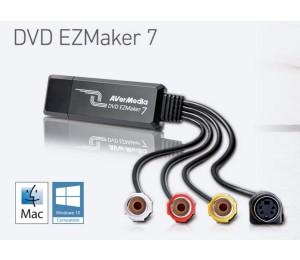 Avermedia C039 Ezmaker 7 Standard Definition Usb Video Capture Card Analog To Digital Recorder