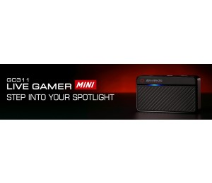Avermedia Gc311 Live Gamer Mini. 12 Months Warranty 61Gc3110A0Ab