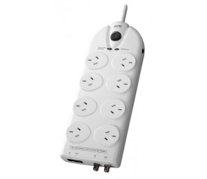 Apc Essential Surgearrest 8 Outlets With Coax & Network Protection 230V Australia P86Vn-Az