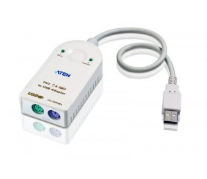 Aten Usb To 2 Port Ps/ 2 Active Converter Uc100Kma-At