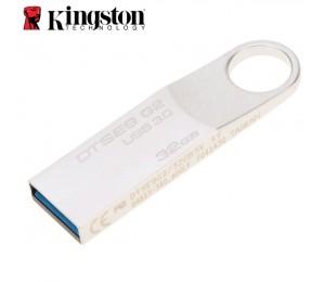 Kingston 32gb Usb3.0 Datatraveler Se9 G2 Metal 100mb/s Read 15mb/s Write Flash Drive Memory Stick