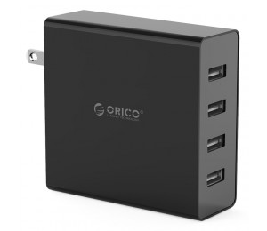 Orico 4 Port Usb Wall Charger (dcw-4u-us) Orico Dcw-4u
