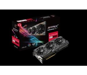 Asus AMD Radeon ROG Strix RX580-T8G DDR5 PCIe Video Card 8K 7680x4320 1xDVI 2xHDMI 2xDP 1431/ 1411MHz