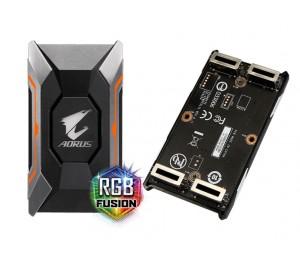 Gigabyte GC-A2WAYSLIL RGB AORUS SLI HB bridge RGB 2 slot spacing for nVidia GTX 10 series graphic