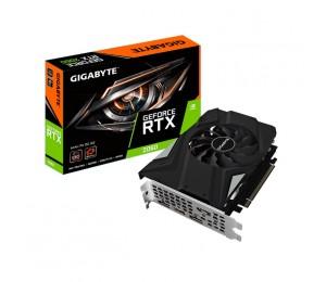 Gigabyte Nvidia Geforce Rtx 2060 Mini Itx Oc 6Gb Gddr6 7680X4320@60Hz 3Xdp1.4 Hdmi2.0 1695Mhz 3Yr