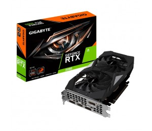 Gigabyte Nvidia Geforce Rtx 2060 Oc 6Gb Gddr6 7680X4320@60Hz 3Xdp1.4 Hdmi2.0 Windforce 2X Fan