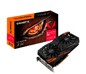 Gigabyte AMD Radeon RX VEGA 56 GAMING OC 8GB PCIe Video Cards 8K 7680x4320 6xDisplays 3xDP 3xHDMI