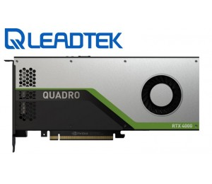 Leadtek Nvidia Quadro Rtx4000 Pcie Workstation Card 8Gb Gddr6 - RTX4000