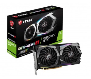 Msi Nvidia Geforce Gtx 1660 Gaming X 6Gb Oc Gddr6 7680 X4320 3Xdp1.4 1Xhdmi2.0B 1875 Mhz Torx Fan