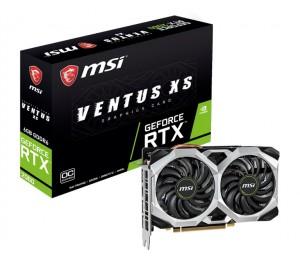 Msi Nvidia Geforce Rtx 2060 Ventus Xs 6Gb Oc Gddr6 7680X4320@60Hz 3Xdp1.4 1Xhdmi2.0 1710Mhz