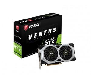 Msi Nvidia Geforce Rtx 2070 Ventus 8Gb Gddr6 8K 7680X4320@60Hz 3Xdp1.4 Hdmi2.0 4Xdisplays Vr G-Sync