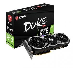 Msi Nvidia Geforce Rtx 2080 Duke 8g Oc 8gb Gddr6 8k 7680x4320@60hz 3xdp1.4 Hdmi2.0 Usb-c Nvlink