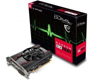 Sapphire AMD PULSE RX 550 2GB Gaming Video Card - GDDR5 DP/ HDMI/ DVI AMD Eyefinity 1206MHz 11268-03-20G
