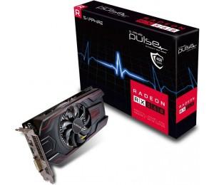 Sapphire AMD PULSE RX 560 4GB Gaming Video Card - GDDR5 DP/ HDMI/ DVI AMD Eyefinity 1226MHz 11267-18-20G