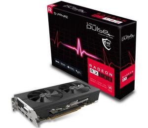Sapphire Amd Pulse Rx 580 4gb Gaming Video Card - Gddr5 2xdp/ 2xhdmi/ Dvi Vr Ready 1366mhz 11265-09-20g