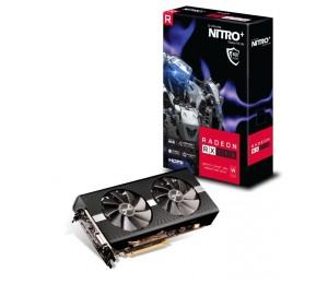 Sapphire Nitro+ Amd Radeon Rx 590 8G Gddr5 Dual Hdmi/ Dvi-D/ Dual Dp W/ Bp Oc (Uefi) 1560Mhz/ 2100Mhz