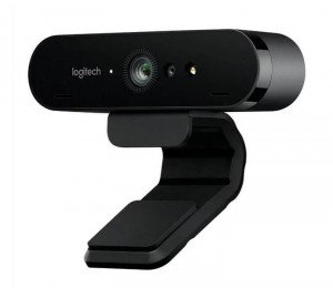 Logitech Brio 4k Ultra Hd Webcam Hdr Rightlight3 5xhd Zoom Auto Focus Infrared Sensor Video Conferencing
