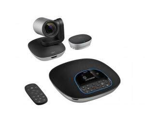 Logitech CC3500e Conference Cam Group Webcam for Big Meeting Rooms 1080p Camera & Speakerphone