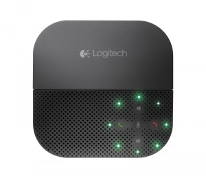 Logitech P710e Mobile Speakerphone Cordless Portable Conference Hands Free Usb Bluetooth Nfc For