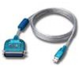 Cabac USB to Printer Port RS232 Cable 1.8M USBPRI