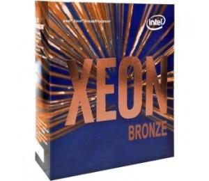 INTEL XEON BRONZE 3106 1.70GHZ 11MB CACHE LGA3647 8CORES/16THREADS PROCESSOR BX806733106