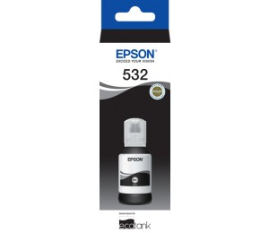 Epson T532 Black Ecotank Ink Bottle C13t03j192