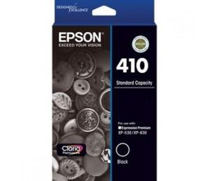 EPSON 410 STD CAPACITY CLARIA PREMIUM - BLACK INK CARTRIDGE (XP-530 XP-630) C13T337192