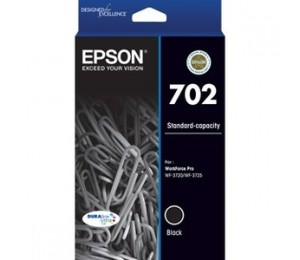 Epson 702 Std Black Durabrite Ink C13T344192