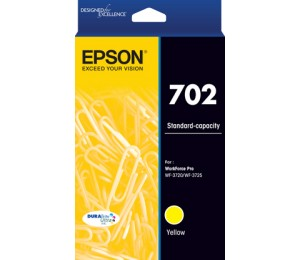 Epson 702 Std Yellow Durabrite Ink C13T344492