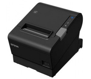 Epson Tm-t88vi-241 Receipt Printer Black Serial + Built-in Ethernet & Built-in Usb With Power Supply.
