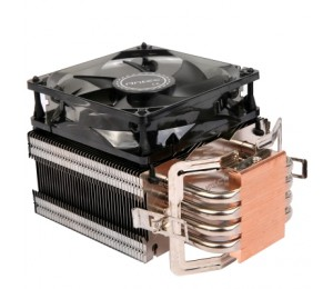 Antec Cpu Cooler: Air Cooler C40 (92mm Fan With Led) With Copper Cold Plate Support Intel 1366/ 115x/