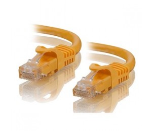 Alogic 1m Yellow Cat5e Network Cable C5-01-yellow