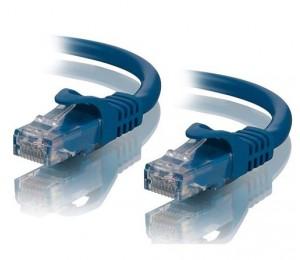 Alogic 1m Blue Cat5e Network Cable C5-01-blue